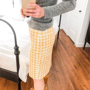 Talbots 4P Pencil Skirt
